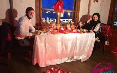 Kız Kulesi Kule De Bar'da Başbaşa Doğum Günü