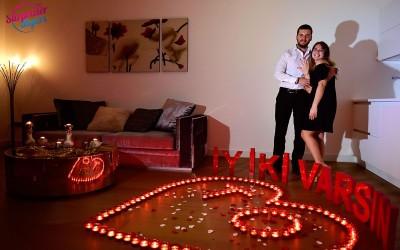 Romantik İstanbulum Doğum Günü Sürprizi