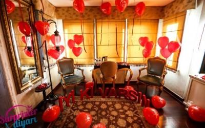 Otelde Doğum Günü Sürprizi
