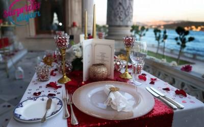 Çırağan Sarayı'nda Yemek ve Yatta Doğum Günü Sürprizi