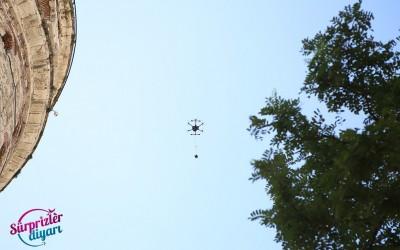 Havadan Çekim ve Drone İle Doğum Günü Sürprizi